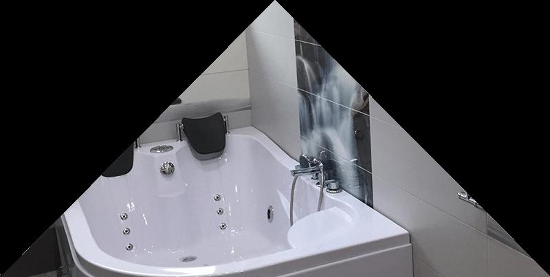 Įrengtas vonios kambarys