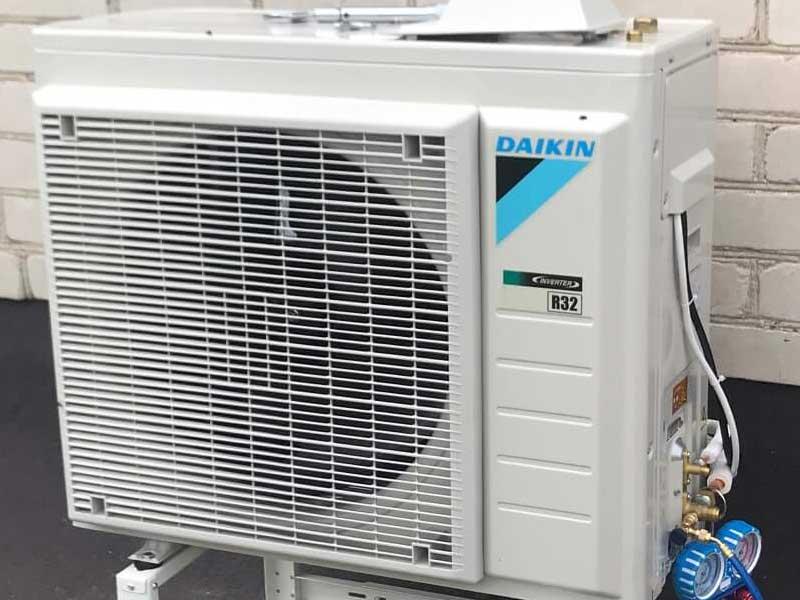 Šilumos siurblių ir kondicionierių montavimas